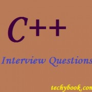 C++ Interview Questions – Part 01
